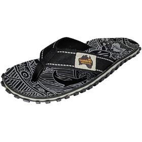 GUMBIES Islander Sandalen zwart